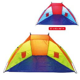 12 Units of Beach Tent - Beach Toys