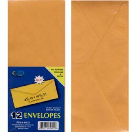 "48 Units of Clasp Envelopes, 4.5""x 10 3/4"", 12 Pk. - Envelopes"