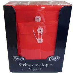 48 Units of String envelopes, 2 pocket - Envelopes