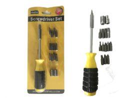 96 Units of 12 Pc Screwdriver Set - Screwdrivers and Sets