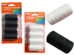96 Units of Sewing Thread 4 Piece 500 Yards - Sewing Supplies