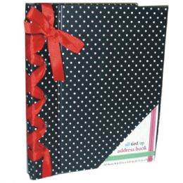 48 Units of Address Book - Black - Card Holders and Address Books
