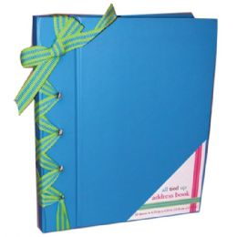 "48 Units of Address Book, Blue 6.25""x 5.25"" - Card Holders and Address Books"
