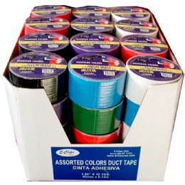 "48 Units of Duct Tape, Assorted Colors, 1.89"" x10 Yds - Tape"