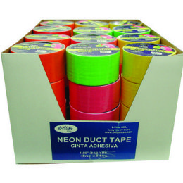 """48 Units of Duct Tape - Assorted 4 Neon Colors - 1.89""""(2"""") X 10 Yards - Tape"""