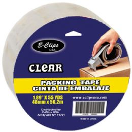 """48 Units of Clear Packing Tape, 1.89"""" X 55 Yards - Tape"""
