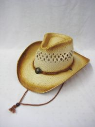 36 Units of Western Cowboy Hat In Brown - Cowboy & Boonie Hat