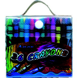 60 Units of 36 Count Apex Crayons - Chalk,Chalkboards,Crayons