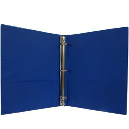 """24 Units of 1"""" Hard Cover (PVC Free) 3-Ring Binder - Navy - Clipboards and Binders"""