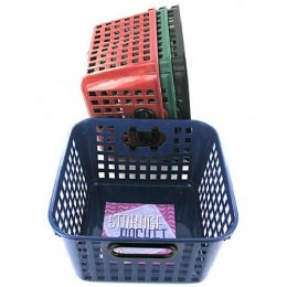 72 Units of 8.5 X 9'' Plastic Basket - Baskets