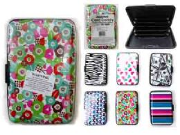 192 Units of Card Caddy In Assorted Designs - Card Holders and Address Books