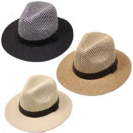 24 Units of Men's Summer Sun Hats - Sun Hats