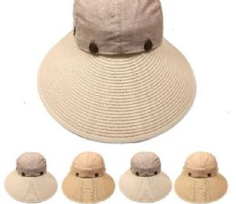 24 Units of Women's Summer Sun Hat - Sun Hats