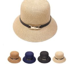 24 Units of Elegant High Quality Woman Bowler Hat - Bucket Hats