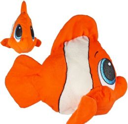 24 Units of Plush Sparkles The Clown Fish - Plush Toys