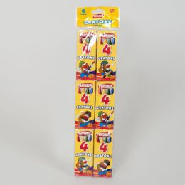 96 Units of Crayons 6 - 4 Ct Packs Boxed Playskool - Chalk,Chalkboards,Crayons