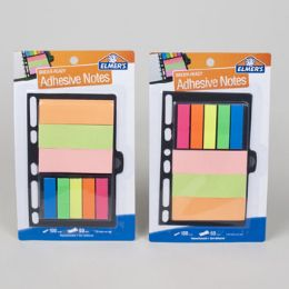 96 Units of Binder Notes 3 X 5 Elmers Asst Colors Notes Ands Flags - Dry Erase