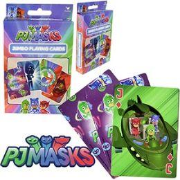48 Units of DISNEY'S P J MASKS JUMBO PLAYING CARDS. - Card Games