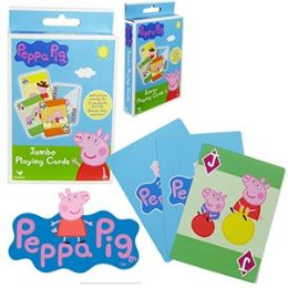 48 Units of Nickelodeon's Peppa Pig Jumbo Playing Cards. - Card Games