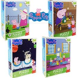 36 Units of NICKELODEON'S PEPPA PIG JIGSAW PUZZLES - Puzzles
