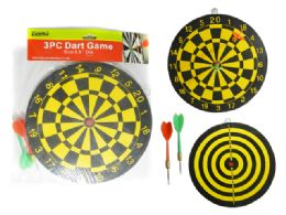 "72 Units of Dart Game 3pc 9.5"" Dia - Darts & Archery Sets"