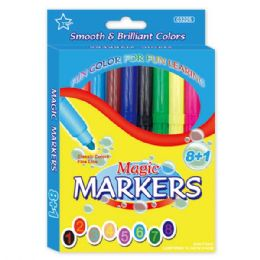 96 Units of 8+1 magic markers - MARKERS/HIGHLIGHTERS