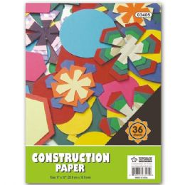 """96 Units of Construction paper pad 9x12""""/24 count - Paper"""