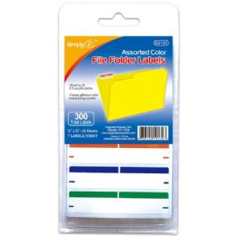 144 Units of File Folder Labels - Reinforcement Stickers & Labels