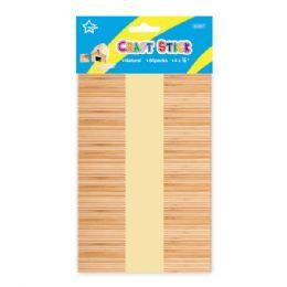 96 Units of Wooden Craft Stick - Craft Wood Sticks and Dowels