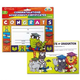96 Units of Achievement certificate - Classroom Learning Aids