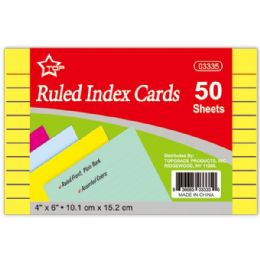 96 Units of Colored Index Card - Labels ,Cards and Index Cards