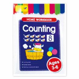 96 Units of Education Book Counting - Coloring & Activity Books