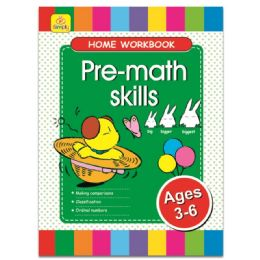 96 Units of Education Book Pre Math - Coloring & Activity Books