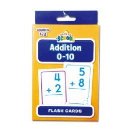 96 Units of Flash Cards/addition - Card Games