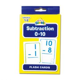 96 Units of Flash Cards/subtraction - Card Games