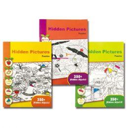 96 Units of Hidden pictures puzzle - Crosswords, Dictionaries, Puzzle books