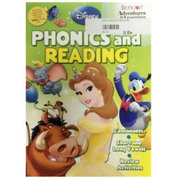 108 Units of Disney phonics & reading - Coloring & Activity Books
