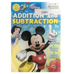 108 Units of Disney add & subtract - Coloring & Activity Books