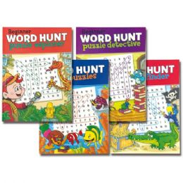 96 Units of Word hunt book - Crosswords, Dictionaries, Puzzle books