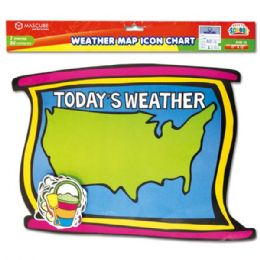 96 Units of Weather map chart - Classroom Learning Aids