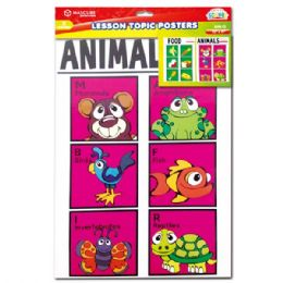 144 Units of Lesson topic posters - Classroom Learning Aids