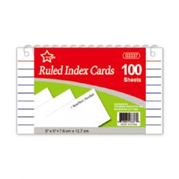 96 Units of Index cards count spiral book - Labels ,Cards and Index Cards