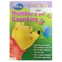96 Units of Disney pooh number&count - Educational Toys