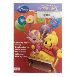 96 Units of Disney pooh colors - Coloring & Activity Books