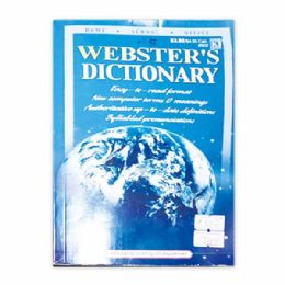 144 Units of Webster english dictionary - Crosswords, Dictionaries, Puzzle books