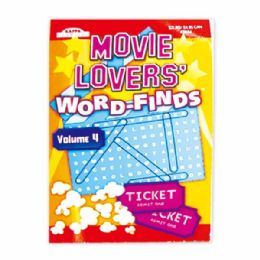144 Units of Movie lovers word find - Crosswords, Dictionaries, Puzzle books
