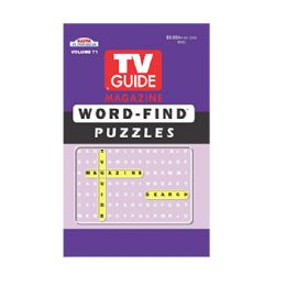 144 Units of Tv guide puzzle series - Crosswords, Dictionaries, Puzzle books