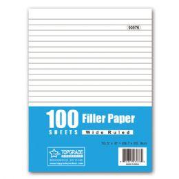 96 Units of Hundred count filler paper - Paper