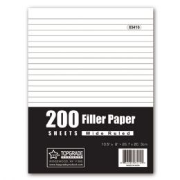 48 Units of Two Hundred count filler paper - Paper