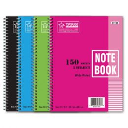 72 Units of Five Subject Notebook - Note Books & Writing Pads